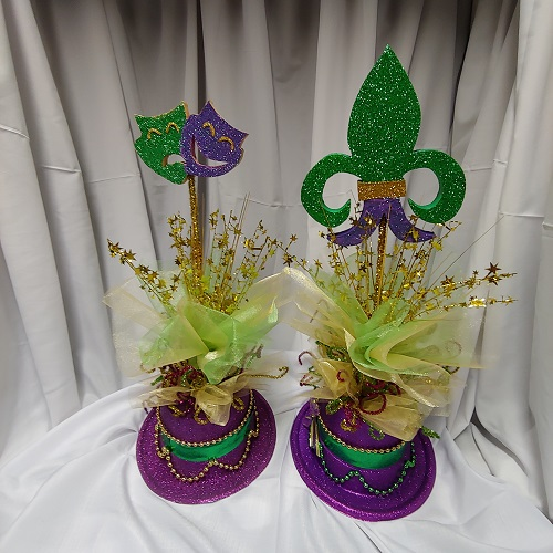 mardi gras decor functions
