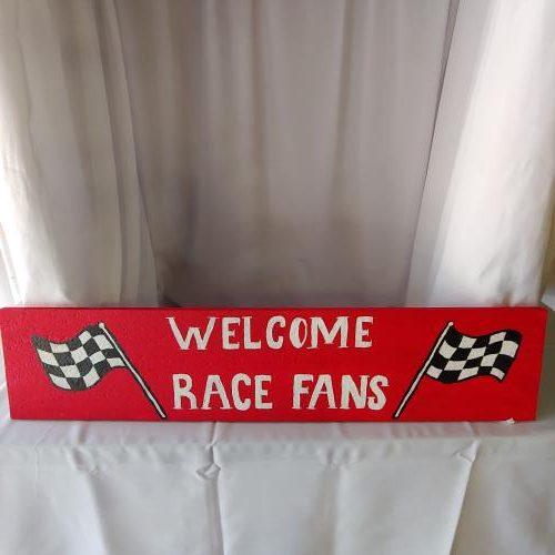 Racing car decor