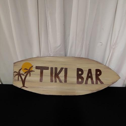 Tiki bar board