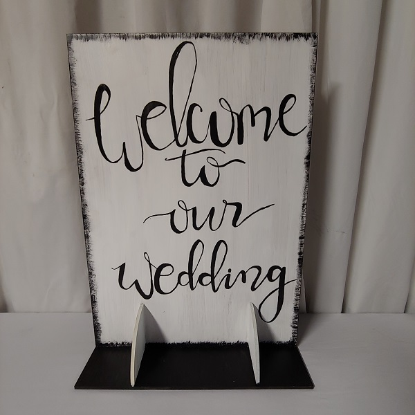 Welcome to our wedding Benoni