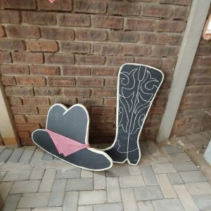 Cowboy boot party themes
