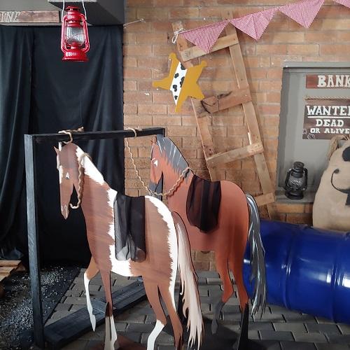 Cowboy horses parties