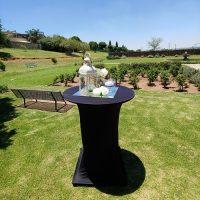 Cocktail tables for rental Boksburg