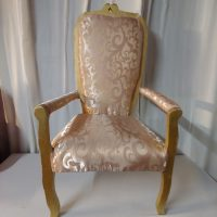 Rose gold chair