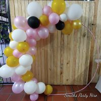 Balloon circles Brakpan