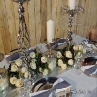 Silver table decor Germiston