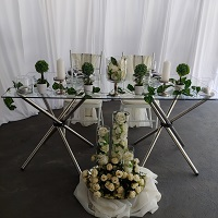 Glass bridal table Benoni