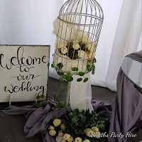 Wedding board hire