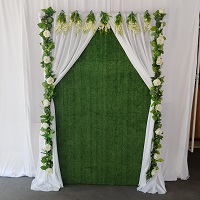 Backdrop weddings