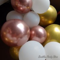 Rose Gold balloons Boksburg