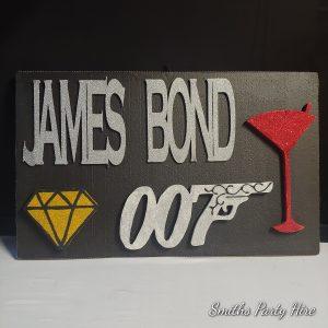 James bond party decor Edenvale