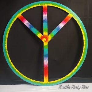Hippie party decor