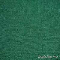 Dark green napkin