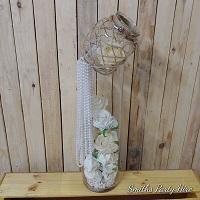 Hessian vase set
