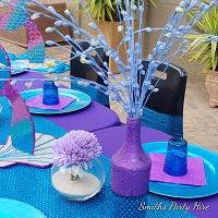 Mermaid table decor
