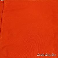 orange draping