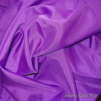Purple draping Boksburg