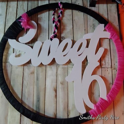sweet 16 decor