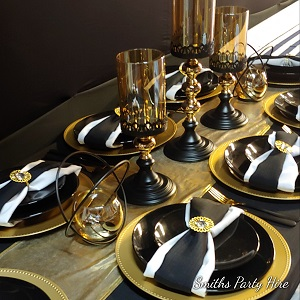 Gold table decor Boksburg