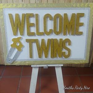 Twins party decor Benoni