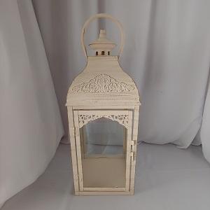 Creme lantern large