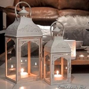 Creme lanterns