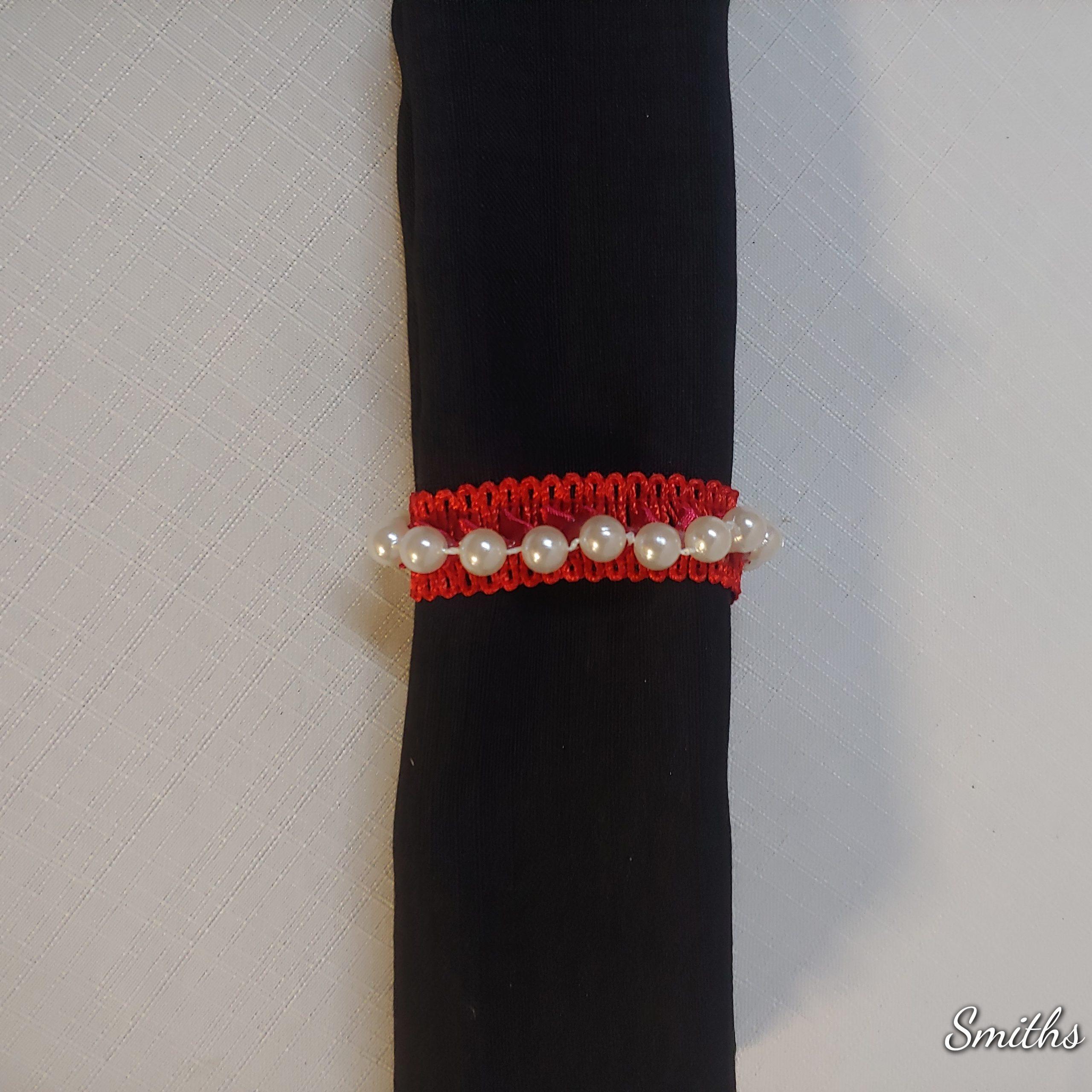 Napkin ring red