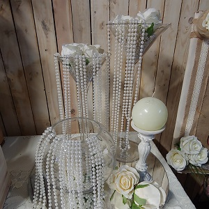 Pearl centrepiece