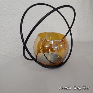 Gold & black orb