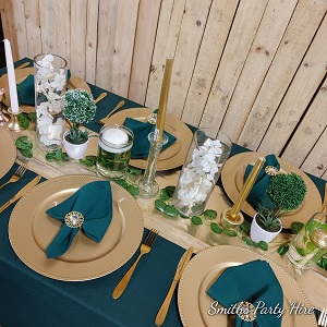 Green wedding settings Bedfordview