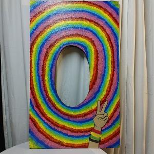 Hippie photoboard