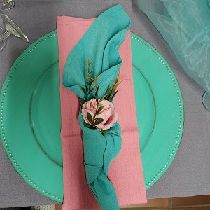 Dusty pink table setting Benoni