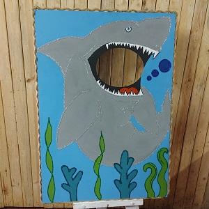 Shark decor for parties