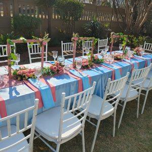Blue wedding function ideas
