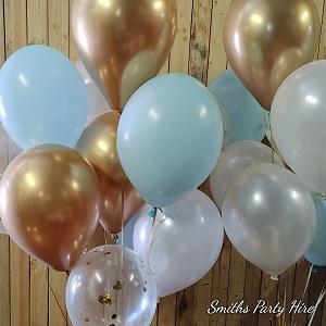 Rose gold balloons Bedfordview