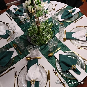 Emerald green weddings Bedfordview