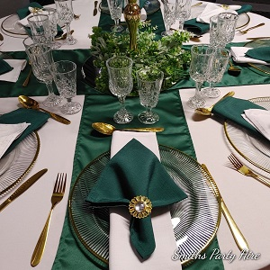 Wedding decor emerald green Benoni